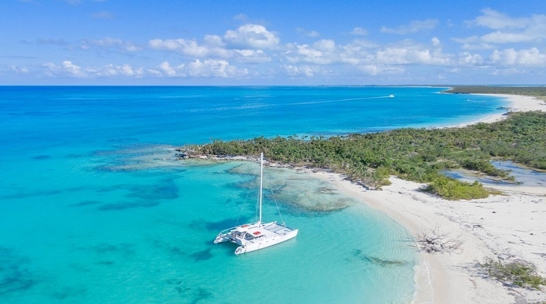 Picture of Grace bay - Fort  George Cay